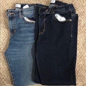 2 pairs of boys HUSKY Jeans